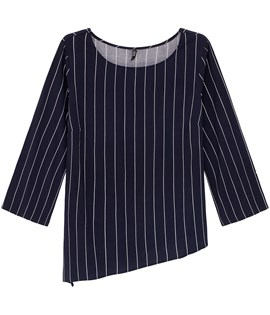 XLNT Striped blouse