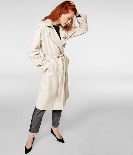 Trenchcoat  - Rosa - Woman - KappAhl