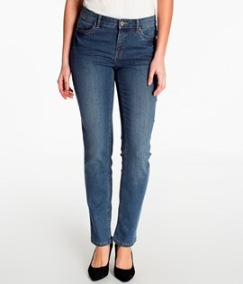 Jeans straight normal waist