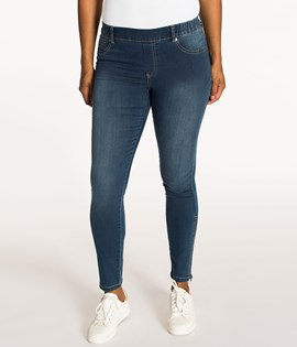 Cropped Treggings normal waist