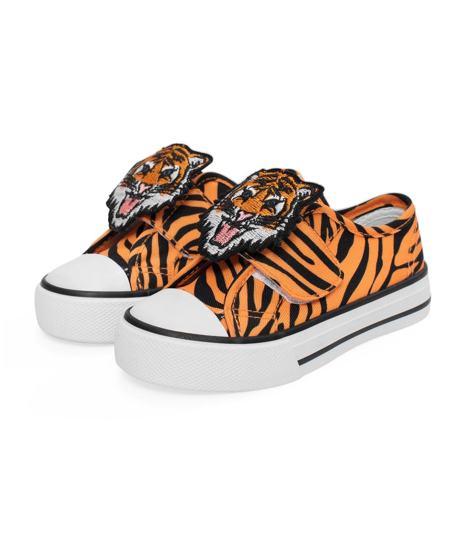 3d433d4de61 Tigermönstrade skor - Barn