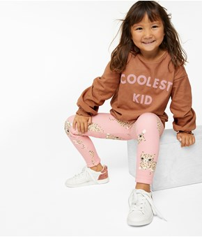 Thumbnail Varme leggings - Rosa - Kids - KappAhl
