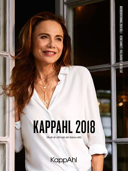New Annual Report from KappAhl - presenting results and sustainability work for 2017/2018