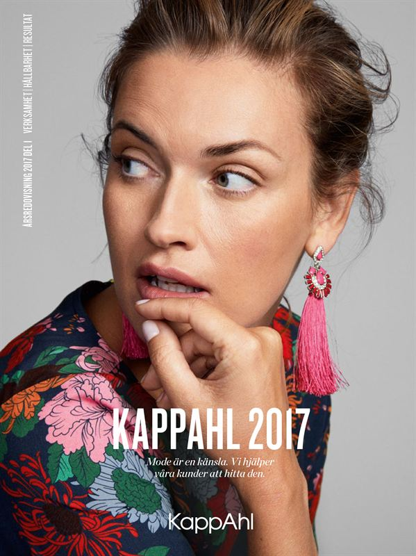 New Annual Report from KappAhl presenting results and sustainability work 2016/2017