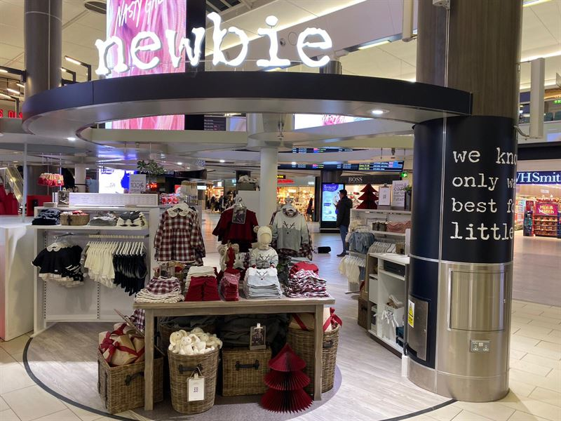 Newbie continues to conquer Great Britain – new store at Gatwick Airport