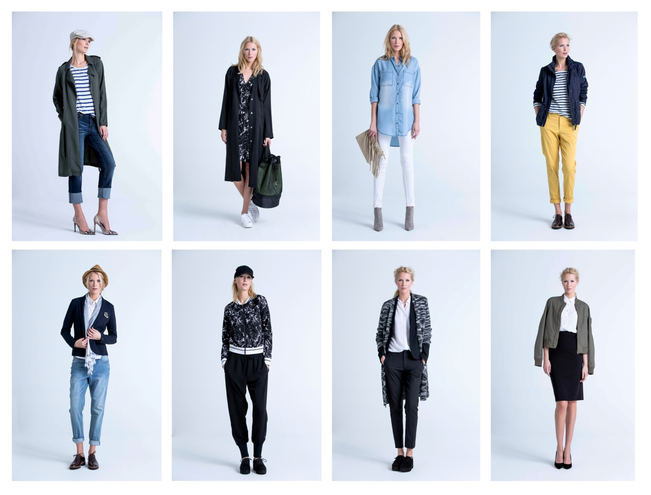 <p>The sporty 90s combined with stylish and feminine lines in KappAhl's 2015 spring collection</p>