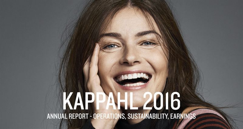 KappAhl publishes their combined Annual and Sustainability Report