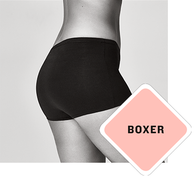 The boxer panties