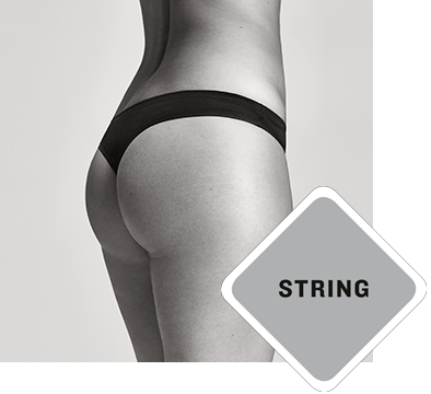 The string panties