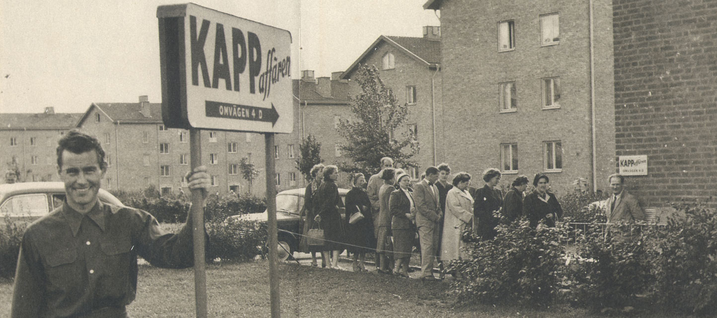KappAhl History – First Store