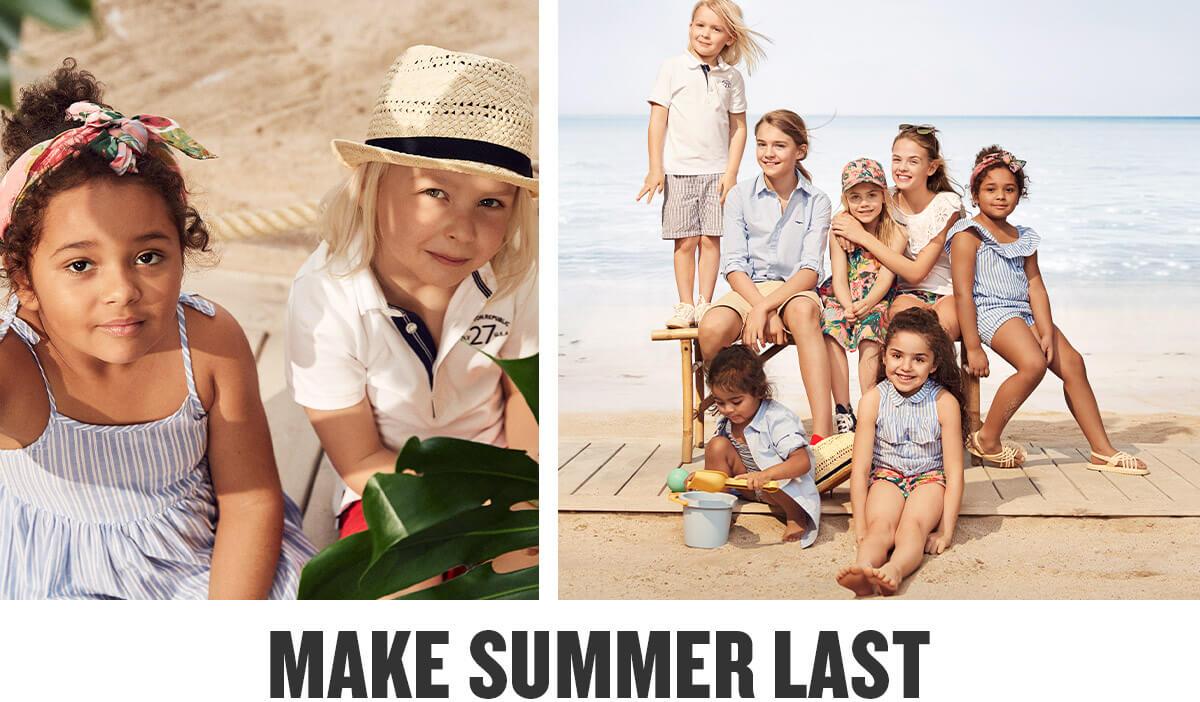 e46eaba255 Wybierz zrównoważoną letnią odzież dziecięcą z kolekcji Hampton Republic  27. Wybierz topy