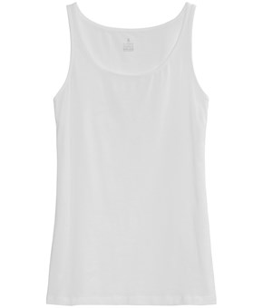 Thumbnail Basic tank - White - Woman - KappAhl