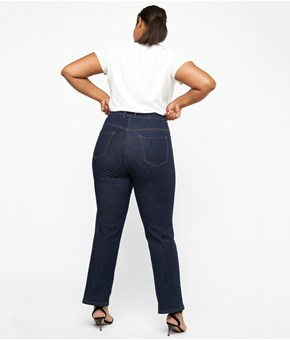 Thumbnail April Jeans straight fit - Sininen - Woman - KappAhl