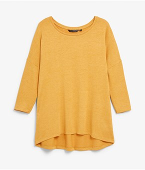 Thumbnail Jersey top - Gold - Woman - KappAhl