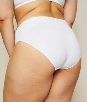Thumbnail Brief panty - White - Woman - KappAhl