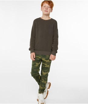 Thumbnail Cargo trousers - Green - Kids - KappAhl