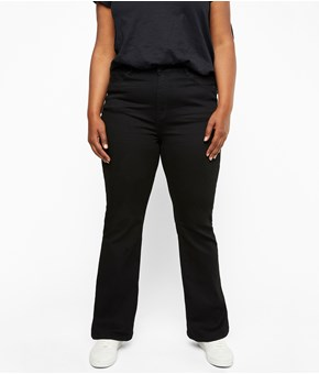 Thumbnail June bootcut jeans - Sort - Woman - KappAhl