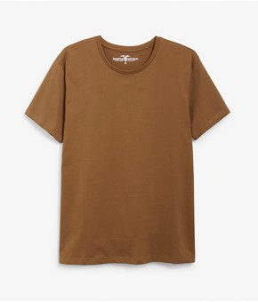 Thumbnail T-shirt - Brown - Men - KappAhl