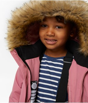 Thumbnail Functional jacket - Pink - Kids - KappAhl