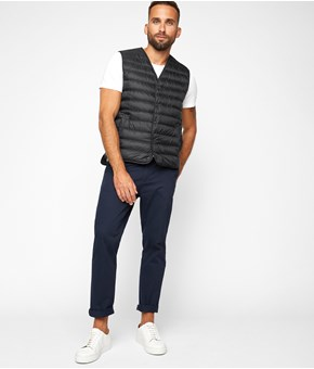 Thumbnail Vest - Sort - Men - KappAhl