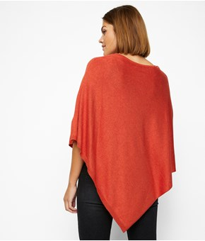 Thumbnail Poncho - Red - Woman - KappAhl