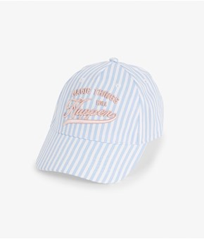 Thumbnail Patterned cap - Blue - Kids - KappAhl