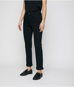 Thumbnail Alice straight jeans - Sort - Woman - KappAhl