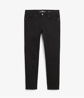 Thumbnail Dave slim jeans - Black - Men - KappAhl