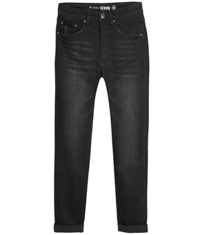 Thumbnail Lauren girlfriend jeans - Sort - Woman - KappAhl